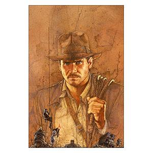 Indiana Jones. Размер: 20 х 30 см